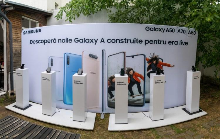 Samsung a prezentat in Romania noua serie Galaxy A