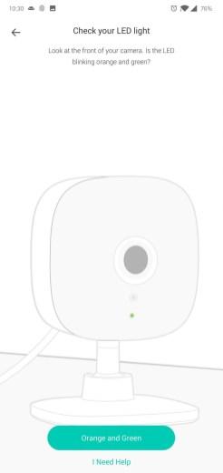 Cameră Kasa Spot instalare2