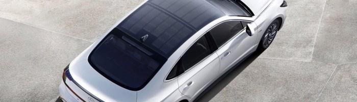 Hyundai Sonata Hibrid cu plafon din panouri solare este la vanzare