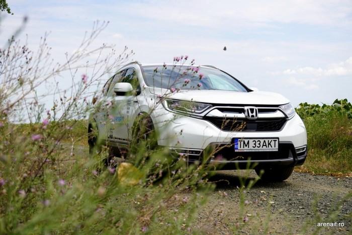 Honda CR-V Hybrid review: un SUV spatios si confortabil