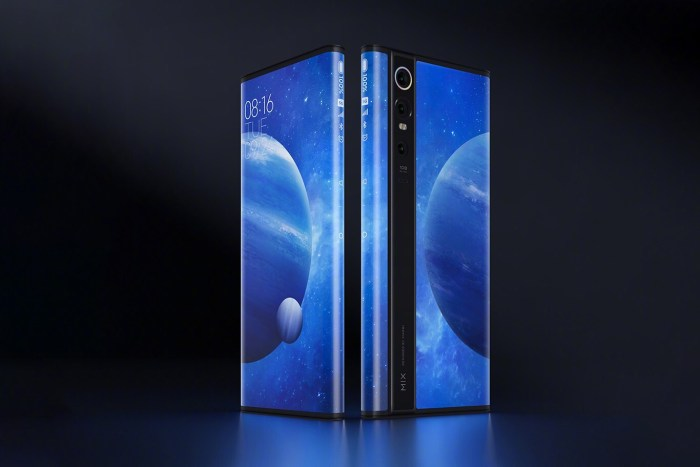 Xiaomi Mi Mix Alpha a fost prezentat