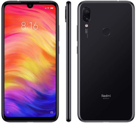 Redmi Note 7 design