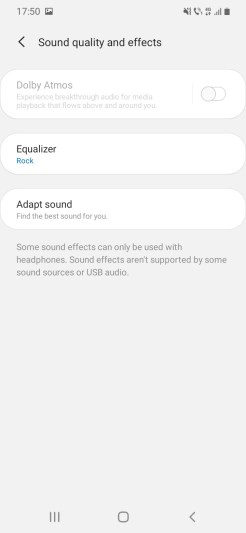 Samsung A20e_Sound_Settings2