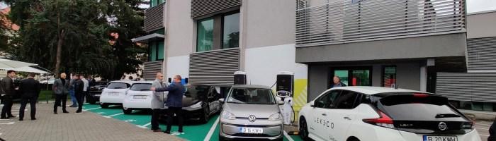 Charging Plaza Hub700 by LEK3.CO: locul unde poti incarca pana la 6 masini electrice in Timisoara