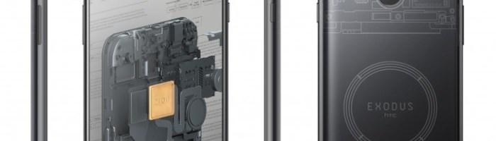 HTC a lansat Exodus 1S - telefon pentru blockchain