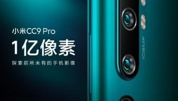 Xiaomi Mi CC9 Pro va fi primul telefon cu camera foto de 108MP