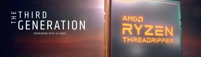 AMD a lansat procesoarele Threadripper 2019