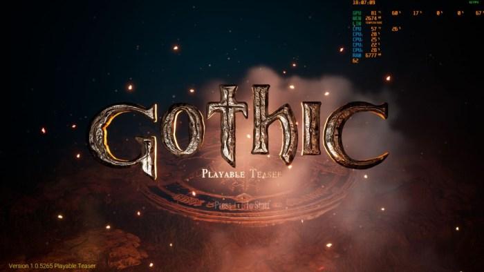 Jocul Gothic ar putea primi un remake in viitor