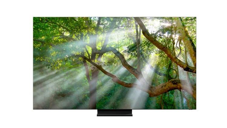 Samsung a prezentat un nou televizor 8K QLED la CES 2020
