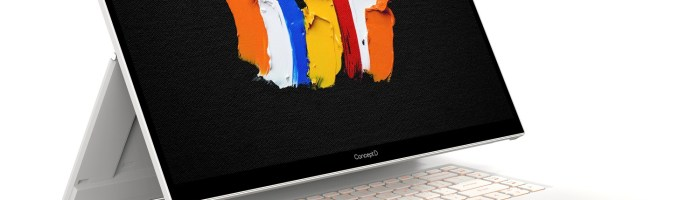 Acer a lansat notebook-urile convertibile ConceptD 7 Ezel
