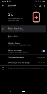Google Pixel 3a XL baterie1