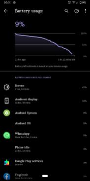 Google Pixel 3a XL baterie2