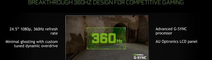 ASUS a prezentat un monitor cu 360Hz