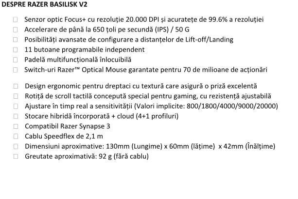 Razer a lansat DeathAdder V2 si Basilisk V2