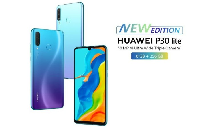 Huawei P30 Lite New Edition - model 2020 cu aplicatii Google