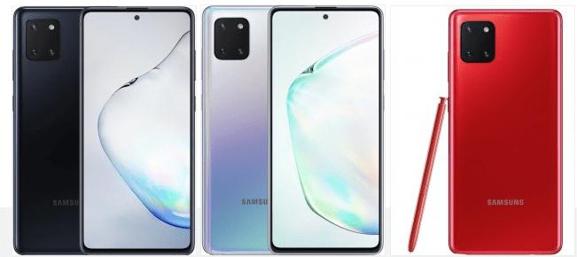 Samsung Galaxy S10 Lite si Note 10 Lite au fost anuntate oficial