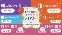 Licente Windows si Office la preturi bune de primavara