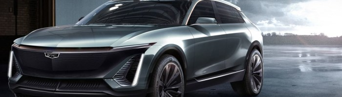 Cadillac va lansa in aprilie un crossover electric