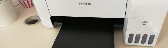 Epson EcoTank L3156 - o imprimanta fara cartuse foarte buna in aceasta perioada