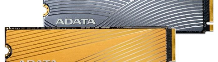 ADATA a lansat 2 SSD-uri FALCON si SWORDFISH PCIe Gen3x4 M.2
