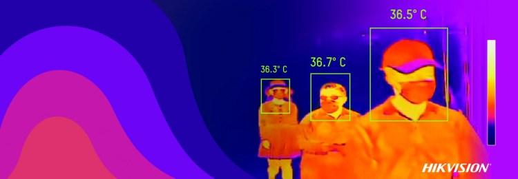 Dacia-Renault foloseste echipamente HIKVISION pentru masurarea temperaturii angajatilor
