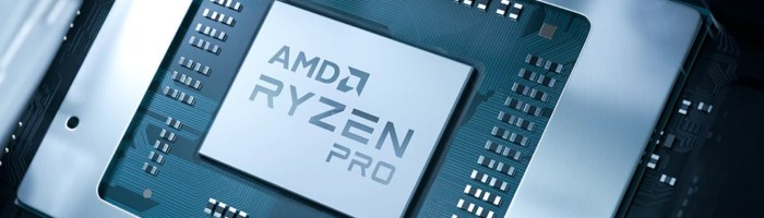 AMD a lansat procesoarele mobile Ryzen Pro 4000
