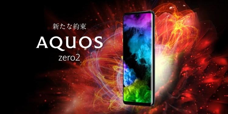 Sharp Aquos Zero 2 - telefon cu ecran de 240Hz