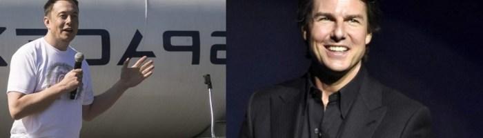 Tom Cruise vrea sa faca un film... in spatiu...