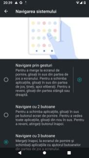 Nexus 6P - setari - gesturi