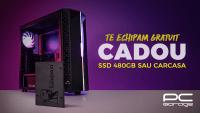SSD de 480GB gratis sau carcasa gratis la comenzile PC Garage