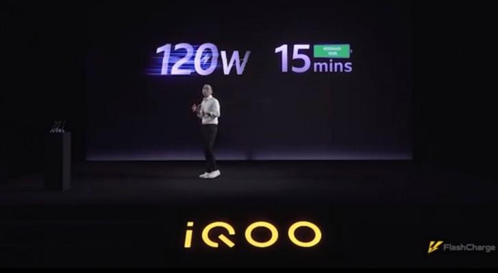 iQOO, brandul secundar al lui Vivo, a lansat incarcarea rapida la 120W
