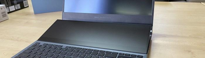 Review ASUS Zephyrus Duo GX550 - un laptop de gaming cu doua ecrane
