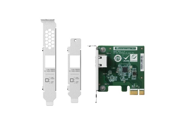 QNAP a lansat o placa de retea 2.5GbE PCIe