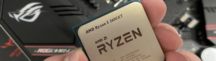 Review AMD Ryzen 5 3600XT - cel mai stabil procesor din serie