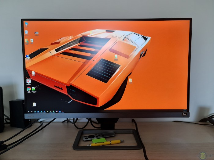 BenQ EW2780Q Review - un monitor multimedia echilibrat cu boxe integrate