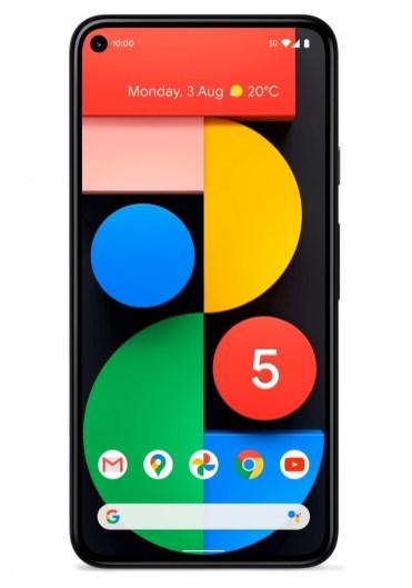 Pixel 5 front
