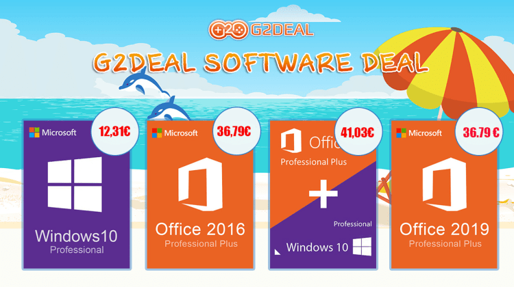 Windows 10 Pro la 12 euro si Office 2016 la 36 euro