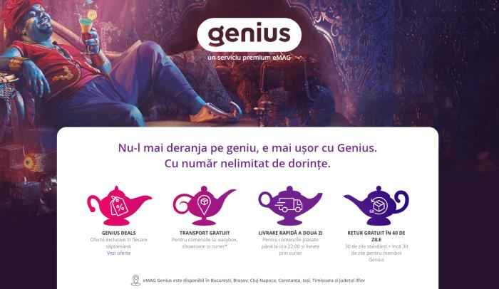Ultima zi în care puteți lua eMAG Genius cu 6 luni gratis