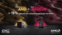 PC Garage ofera 15% discount la orice achizitie de procesor AMD si placa video AMD