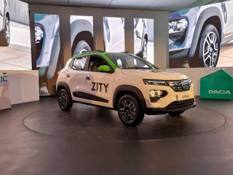 Dacia Spring prezentată oficial în România