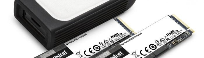 Kingston la CES 2021 - pregatesc noile unitati SSD PCIe 4.0