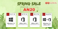 G2Deal are oferte de primavara la licentele de Windows si Office – preturi de la 13 euro