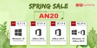 G2Deal are oferte de primavara la licentele de Windows si Office – preturi de la 13 euro