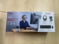 Concurs pentru cei care lucreaza de acasa sau fac scoala online – Trust ofera un kit de periferice office