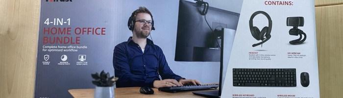 Concurs pentru cei care lucreaza de acasa sau fac scoala online - Trust ofera un kit de periferice office
