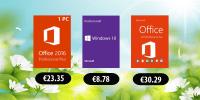 Windows 10 la 43 lei si Office 2016 la doar 112 lei