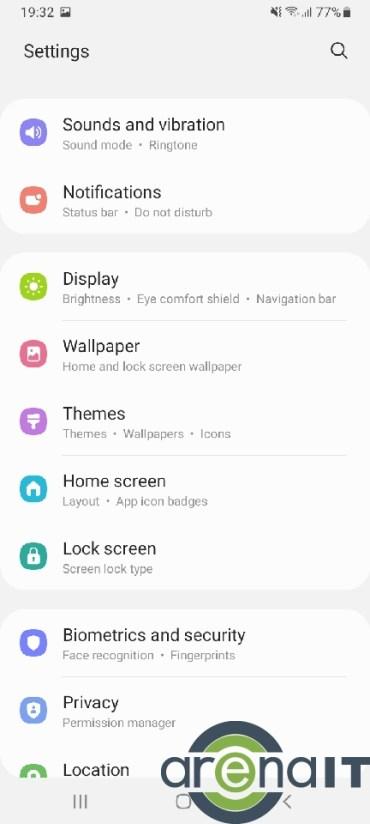 Samsung Galaxy A32 menu (8)