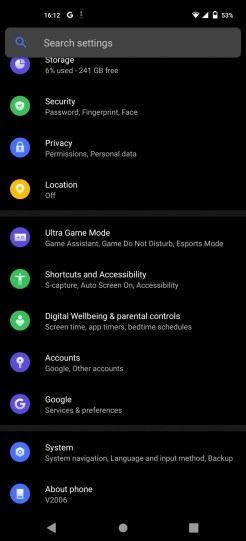 vivo X51 5G (settings2)