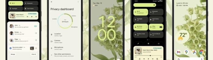 Cu ce vine nou Android 12?
