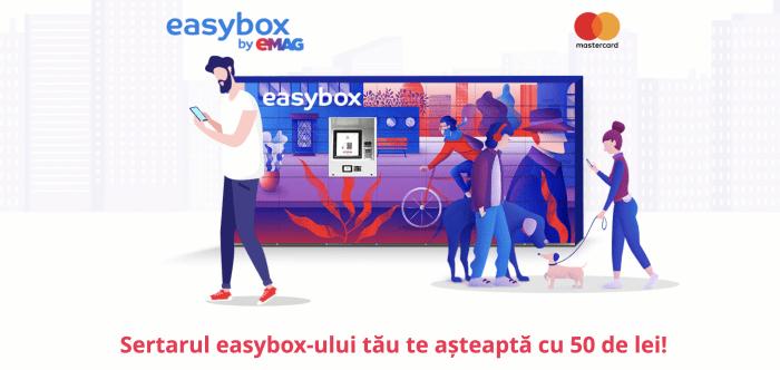 Primesti 50 lei daca faci o comanda la EasyBox